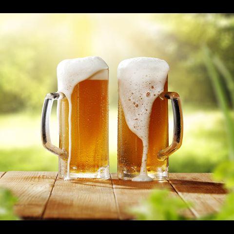 bier in de natuur