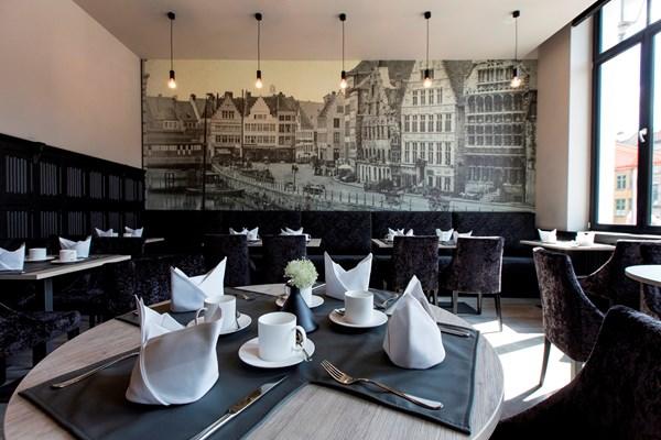 Ontbijtruimte hotel Gent