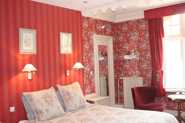 Kasteel kamer rood