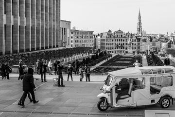Uitzicht Brussel