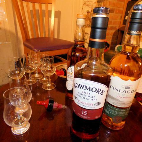 The Glengarry whiskydegustatie