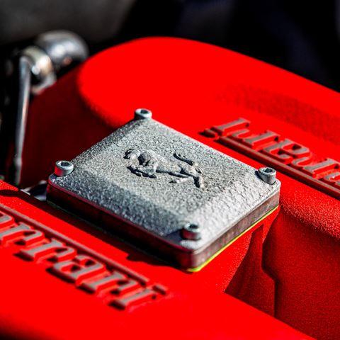 Rijden in een Ferrari 360