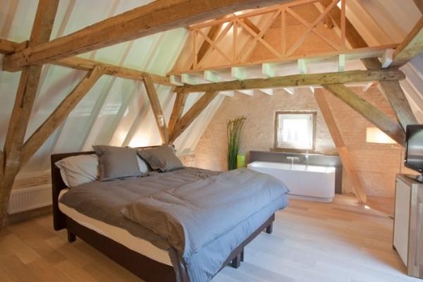 Luxe landelijke slaapkamer