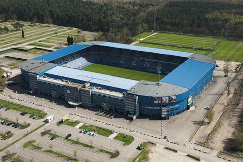 Stadion fc genk belgie