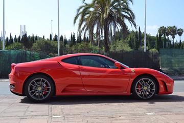 Ferrari F430 zijkant