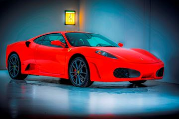 Ferrari F430 showroom