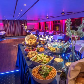 Diner cruise Rederij Stiphout