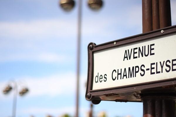 Champs-Elyse Parijs