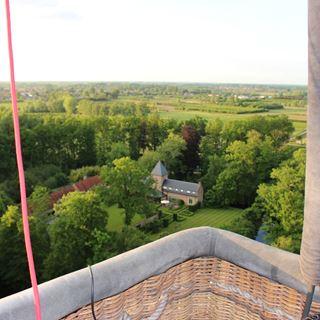 Ballonvaart uitzicht Belgie