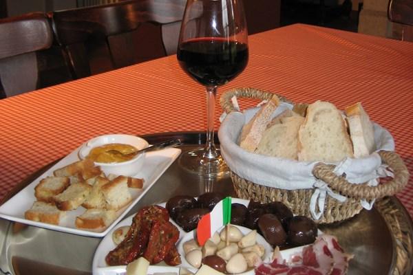 Wijnproeverij specialiteiten