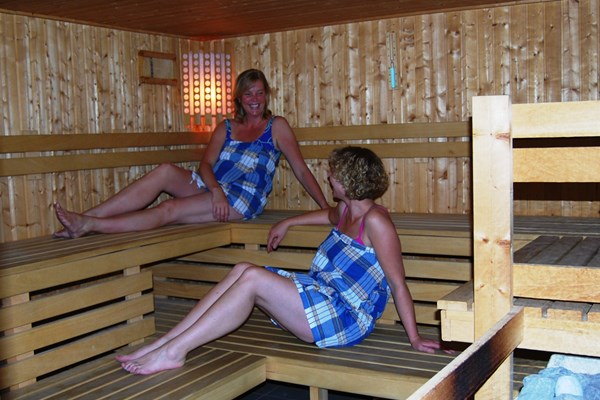 Sauna wellness