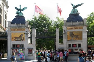 Antwerpen Zoo entree