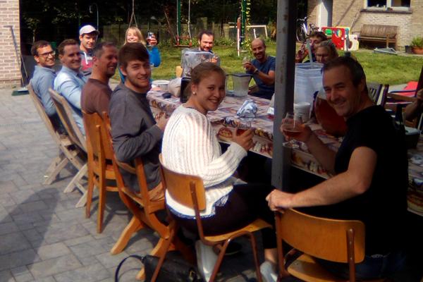 Bier brouwen aan tafel