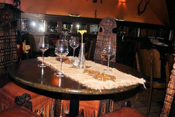 Gedekte tafel Little Ethiopie