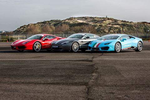 Racen op het circuit van Zandvoort