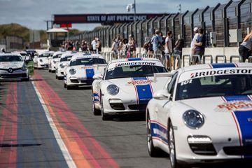 Porsche rijden op het circuit