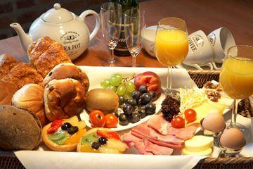 Ontbijtbuffet kasteel