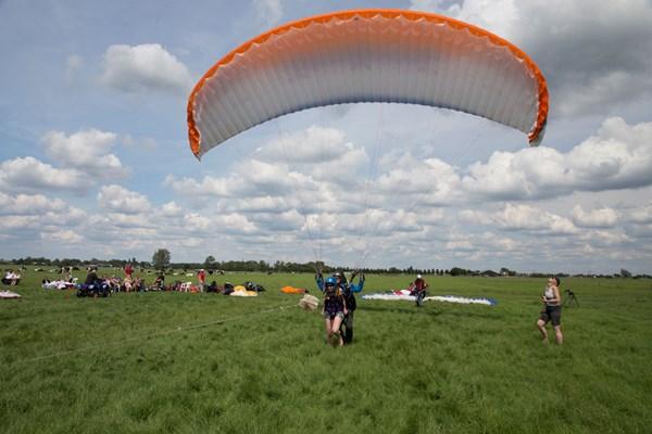 Start paragliden