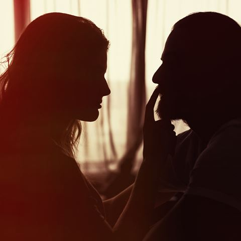 Romantiek in hotelkamer