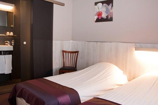 Slaapkamer Hotel Brabant