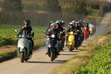 Vespa tour Limburg