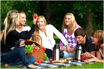 Vespa tour met picknick