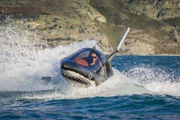 Adrenaline kick in het water