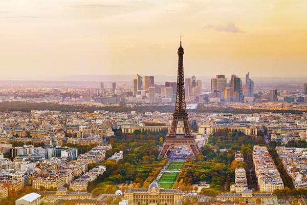 Romantisch dagje Parijs