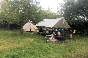 Tent in de natuur