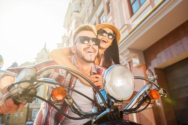 Vespa tour romantisch