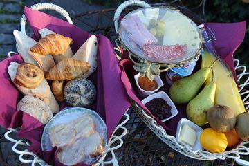 Ontbijtbuffet kasteel Luik