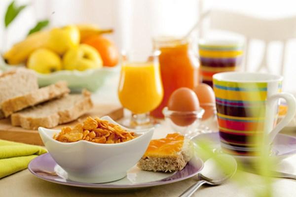 Ontbijt in hotel