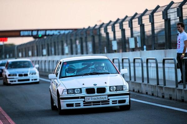 Racetaxi op het circuit