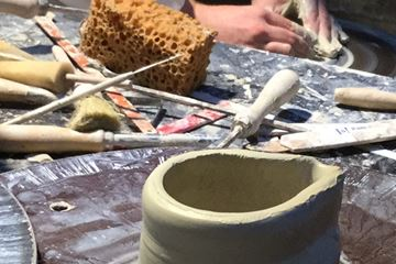 Materialen pottenbakken