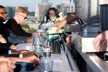 Dineren op 50 meter hoogte