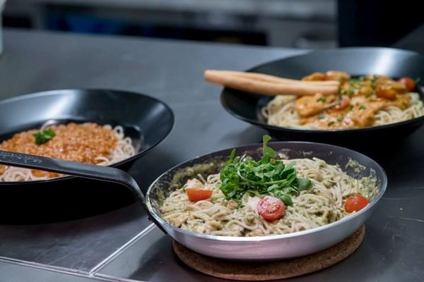Spaghetti gerechten