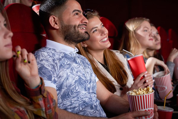 Koppel in bioscoop