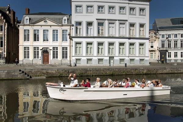 Rondvaart binnenstad Gent