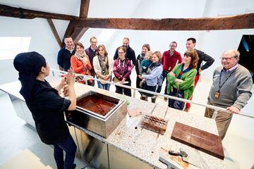 Demonstratie meester-chocolaterie
