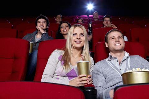 Stel in bioscoop