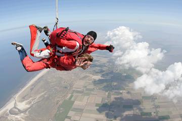 Uitzicht parachutesprong