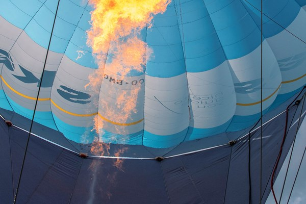 Vuur luchtballon